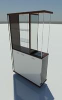 cabinet divider 3d model