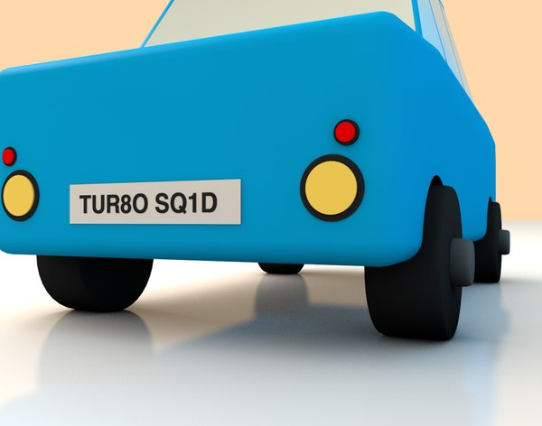 cinema4d toy car - Toy Car... by PeterQuinn79