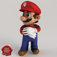 3ds max super mario pose2