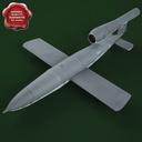 V1 bomb 3D models