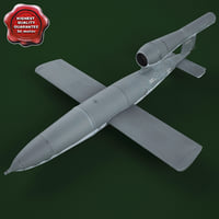 WWII German V1 Flying Bomb