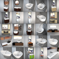 altamarea - design washbasin 3d model