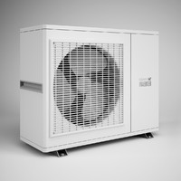 CGAxis Air Conditioner 11