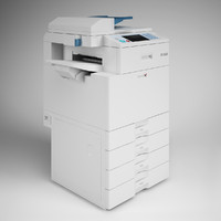 CGAxis Photocopier Machine 13