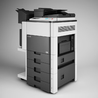 CGAxis Photocopier Machine 14