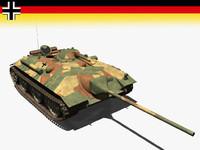 3d model of armor e25