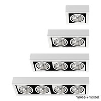 vibia corner spotlights downlights 3d max
