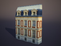 Apartment House #38 Low Poly 3d Model