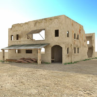 Arab ruined house