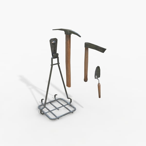 Maya farming tools for Gardening tools 3d model