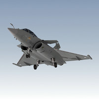 dassault rafale fighter 3d model