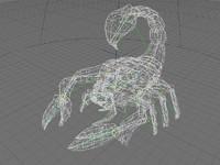 3d scorpion model