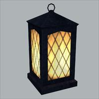 Lantern, Low Poly