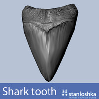 3ds max shark tooth