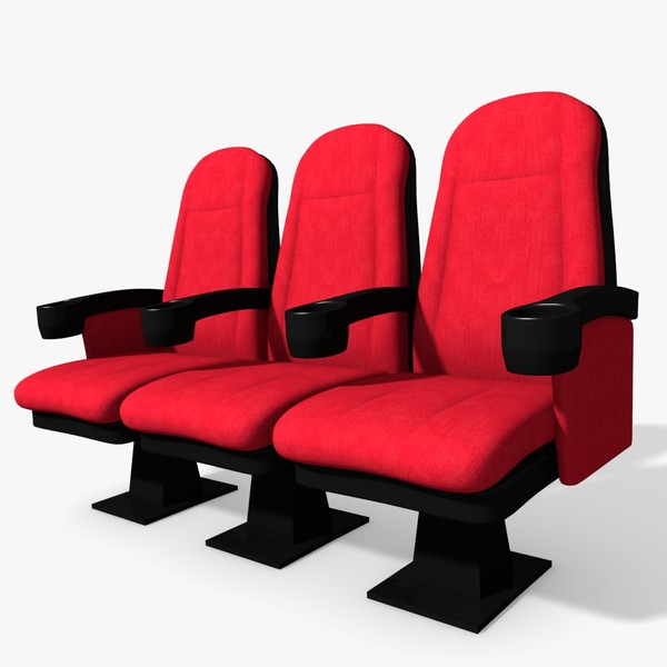 3d Movie Theater Seats