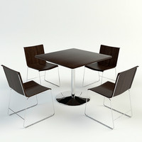TABLE & CHAIRS | V-ray 1.5 Materials
