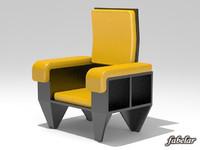 maya armchair realistic