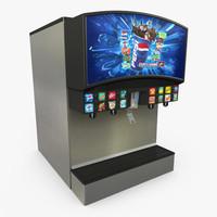 retail soda 3d max