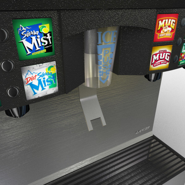 retail soda 3d max - Retail - Pop Machine 16... by BlueBrain