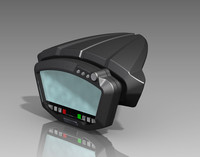 Ducati Dash Display 3D CAD