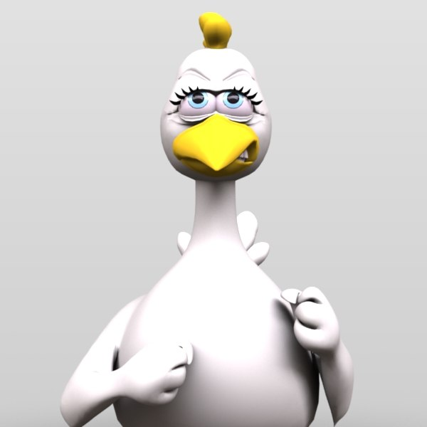 Duck Cartoon Character 8.JPG
