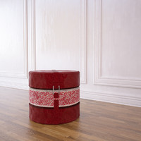 3d cushion pouffe model