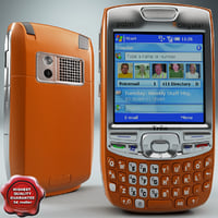 3d palm treo 750 orange