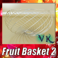 fruit basket 02 3d 3ds