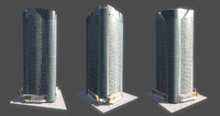 3d model mori tower