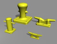 marine fittings, bollard & cleat