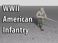 World War II American Infantry Soldier