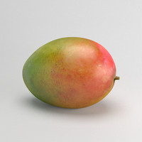 photorealistic mango 3ds