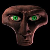 head aborigine 3d model