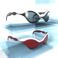 sun glasses 3d 3ds