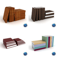3d model of format books