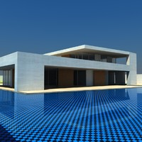 3ds max luxury mansion