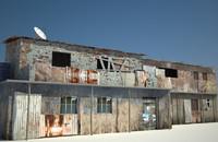 3d slum house