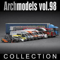 3d archmodels vol 98