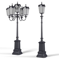 Big cast iron Street lamp