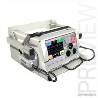 3d model manual defibrillator