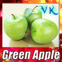 Green Apple High Detailed + High Resolution textures