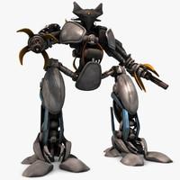 3d model robot pose