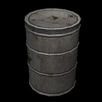 55 gallon drum 3ds