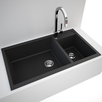 Kitchen Sink Blanco Metra 9 + tap Gessi Quadro