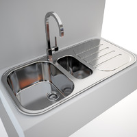 Kitchen Sink Blanco Claris 6 S + tap Gessi Quadro