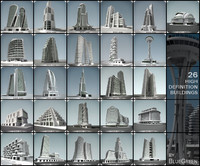 maya definition buildings pack