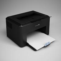 maya computer laser printer 16