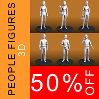 People figures