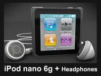 3d model apple ipod nano