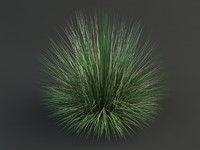 3d max bluegrass grass